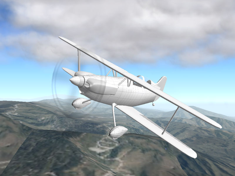 Zulu Gltek Team Twist G Riot Aircraft At Perth Scone